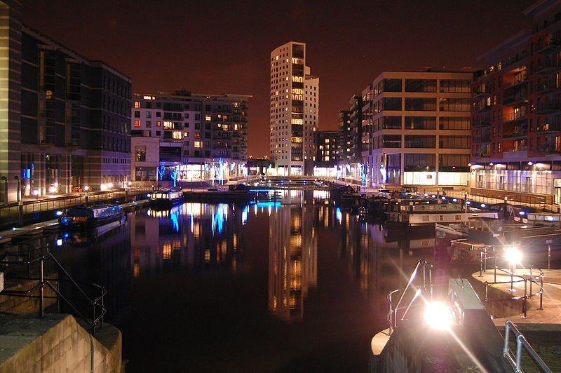 Clarence Dock in Leeds
