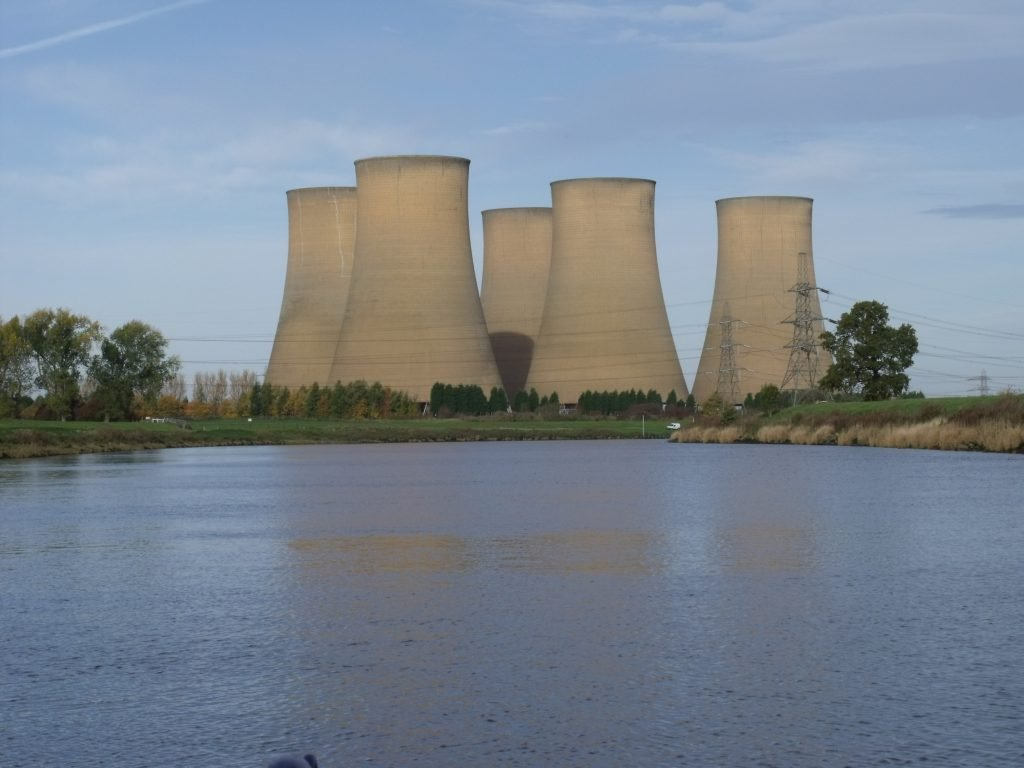Power station on the Trent