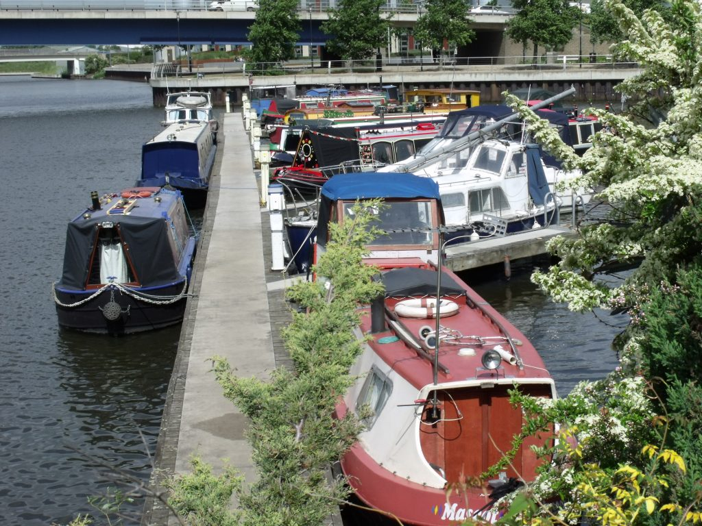 Doncaster's secure moorings