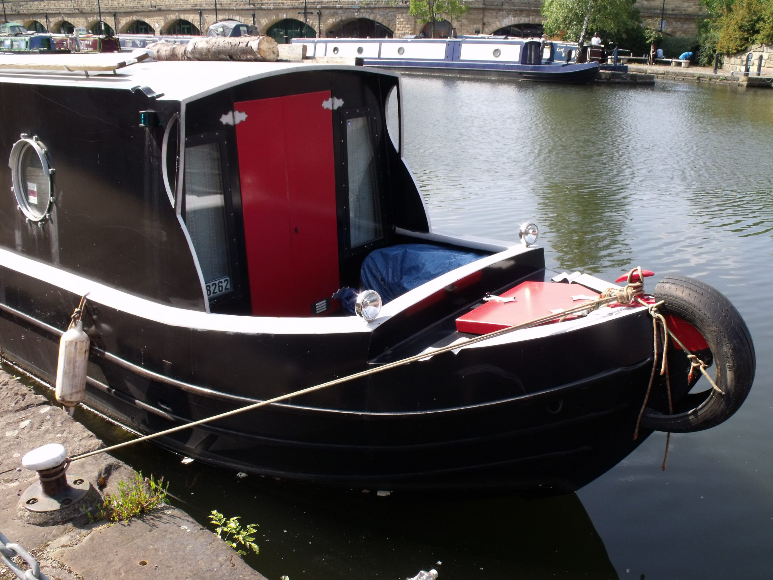 Narrowboat Trilby, built by Paul Widdowson of Newark