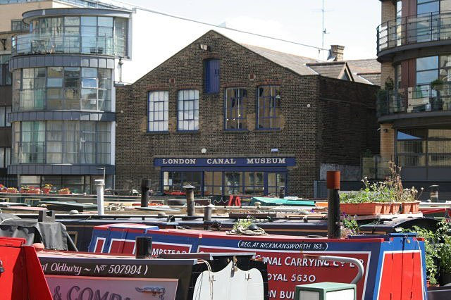 London Canal Museum. Photo by Alan Murray-Rust