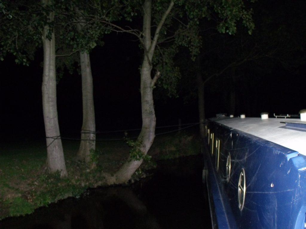 Mapledurham at night