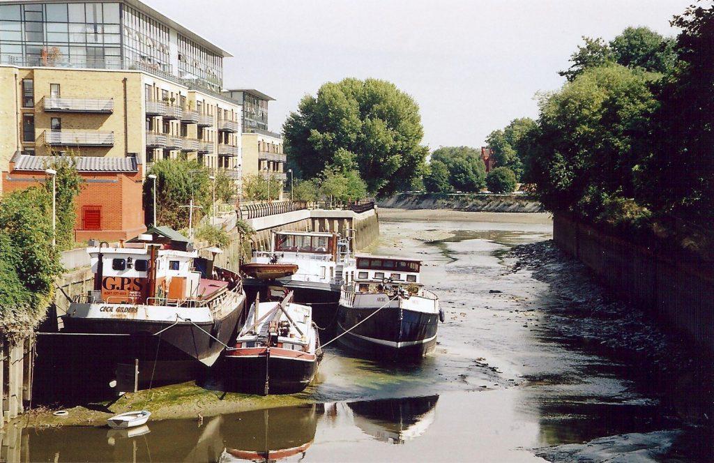 Thames Lock at Brentford