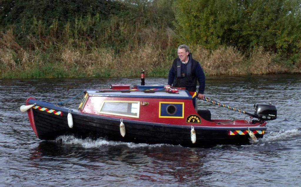 Cruiser or narrowboat on the River Trent?