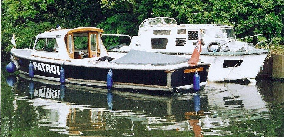 British Waterways Patrol Boat